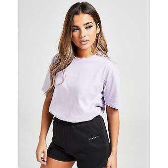 New Mckenzie Women's Essential Boyfriend Short Sleeve T-Shirt Purple