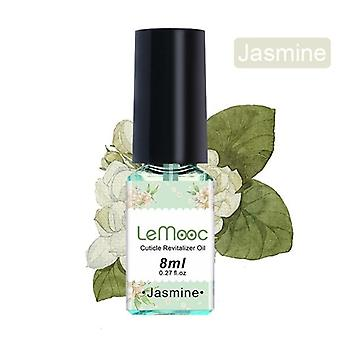 Nail Cuticle 8ml Oil Transparent Revitalizer Nutrition Flower Flavor Nail Care Nail Treatment Tool for Nail|Nail