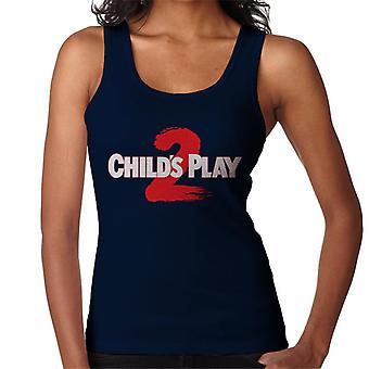 Chucky Childs Play 2 Logo Women's Vest
