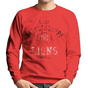 East Mississippi Community College Football Lions Men's Sweatshirt