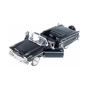 MotorMax American Classics - 1958 Chevy Impala Black 1:24
