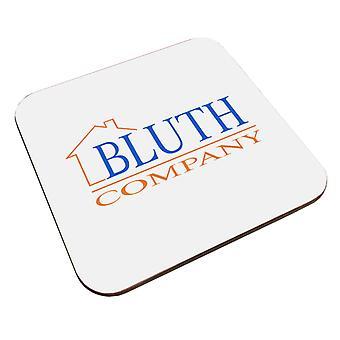 Arrestation du logo de la société Bluth