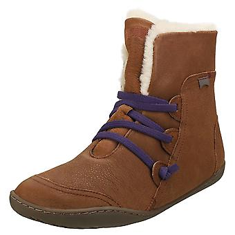 Camper Peu Cami Womens Casual Boots in Brown