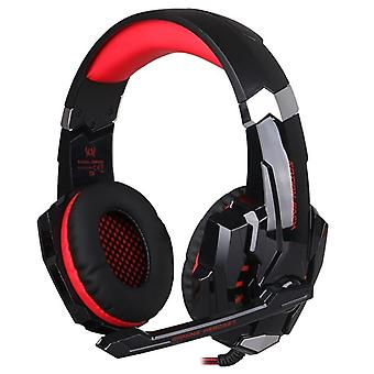 Kotion EACH G9000 Gaming Headset with LED, red