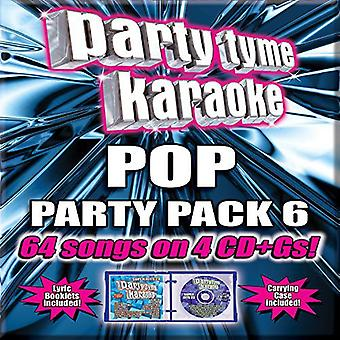 Party Tyme Karaoke - Ptk-Pop Party Pack 6 [CD] USA import