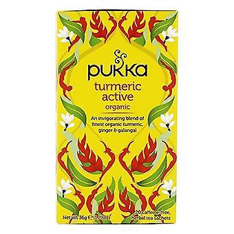 Pukka Organiczna kurkuma aktywna herbata ziołowa