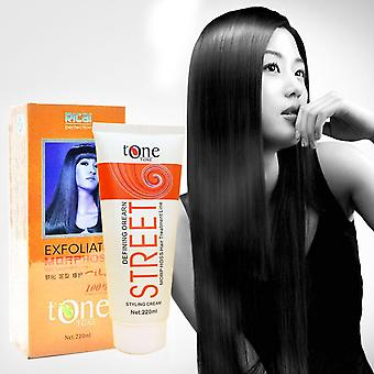 Hair Straightening Cream With Keratin Treatment - Professional Hair Relaxer Cream