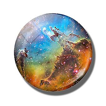 Luminous Planet, Nebula, Galaxy, Universe Decorative Fridge Magnet -