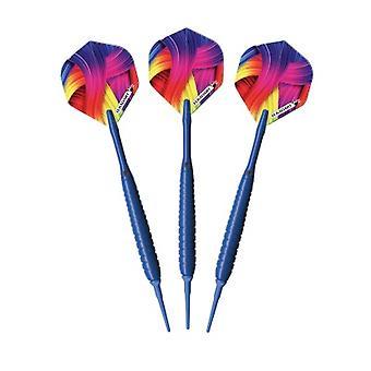 20-3605-18, Elkadart Neon Blue Soft Tip Freccette 18 Grammi