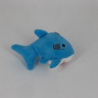 12cm Ocean Animal Plush Toy  Mini Key Chain Gift Toys Dolls