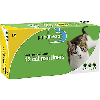 Van Ness Litter Tray Liner - Large (12-Pack)