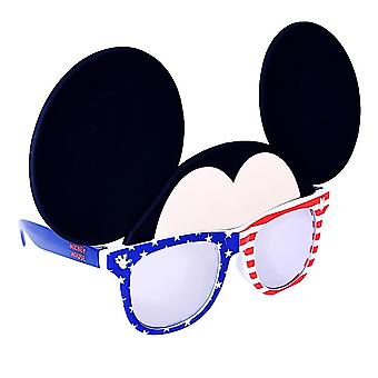 Sun-Staches - Red White and Blue Mickey sg3084