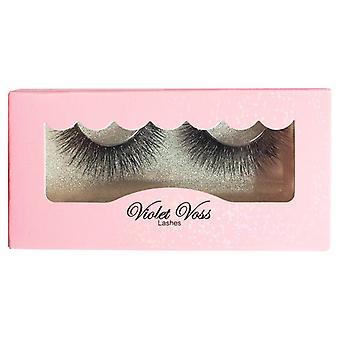 Violet Voss Cosmetics Premium 3D Faux Mink Eyelashes - Ebony and Eye-Vory