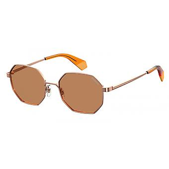 Sunglasses Unisex 6067/Sofy/HE bronze/orange