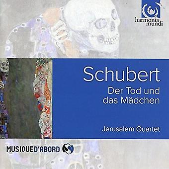 Schubert / Jerusalem Quartet - String Quartet No.14 & Quartettsatz [CD] USA import