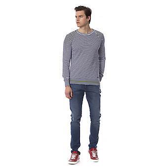 Trussardi Jeans U Blue Sweater TR816928-XXL
