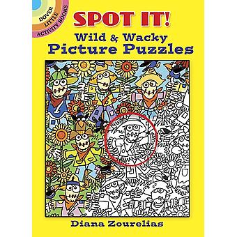 Spot It Wild amp Wacky Picture Puzzles by Diana Zourelias