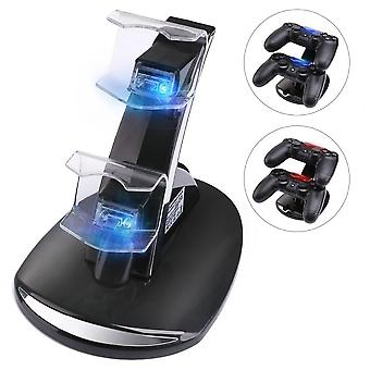 Controller-Ladegerät Dock-led Dual Usb/ps4 Charging Stand Station Cradle