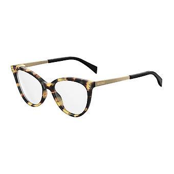 Moschino MOS503 SCL Yellow Havana Glasses