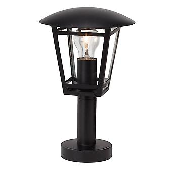LUZ BRILLANTE Riley Lámpara Base Exterior 43cm Negro ? 1x A60, E27, 40W, adecuado para lámparas normales (no incluidas)