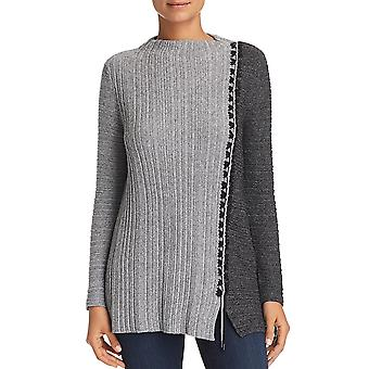 Nic+Zoe | Cable Knit Colorblock Sweater