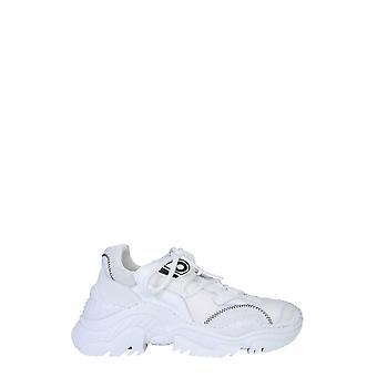 N°21 00119fwsu0110009w001 Heren's White Polyester Sneakers