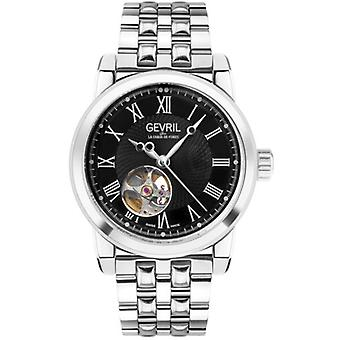 Gevril Mens 2580 Madison Automatic Open Heart Window Limited Edition Zwitsers horloge