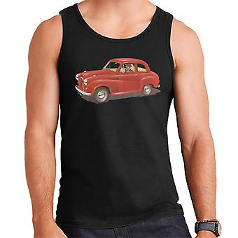 Austin A35 Red British Motor Heritage Men's Vest