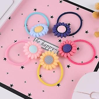 Lovely Cartoon Heart Type Metal Candy Color Hairpins