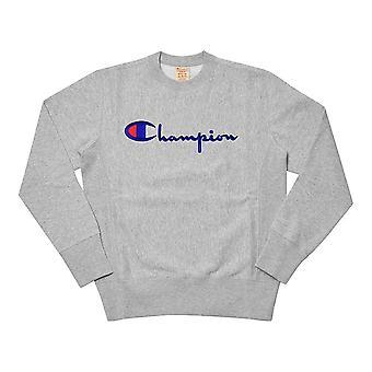 Champion Crewneck Sweatshirt 212576EM004 universell hele året menn sweatshirts