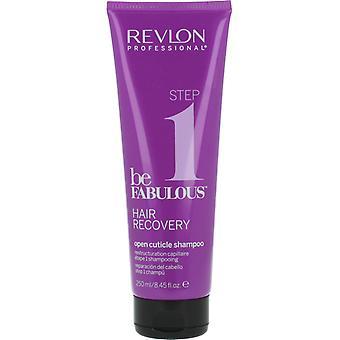 Revlon Be Fabulous Step 1 Recovery Open Cuticle Shampoo 250ml