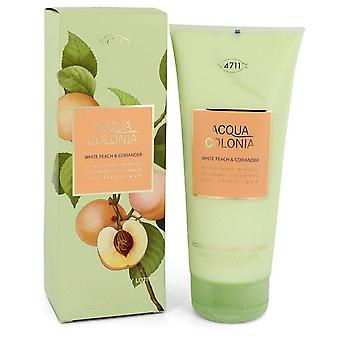 4711 Acqua Colonia White Peach & Koriander Body Lotion Door 4711 6.8 oz Body Lotion