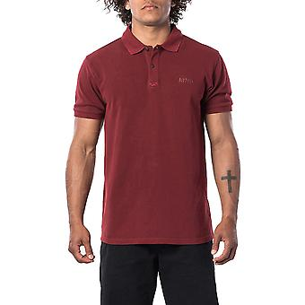 Rip Curl Faded Polo Shirt en rouge