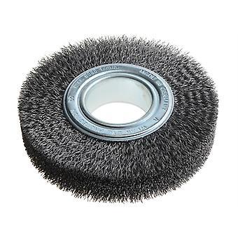 Lessmann Wheel Brush D150mm x W30-32 x 50 Bore Set 3 Steel Wire 0.30 LES345163