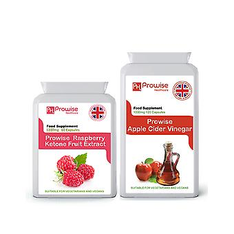 Raspberry Ketones + Apple CIder Vinegar | Suitable For Vegetarians & Vegans | Made In UK