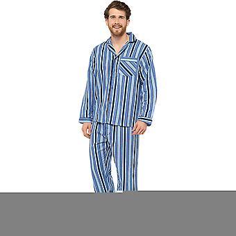 Tom Franks Mens dungi Flanel Pijama Set