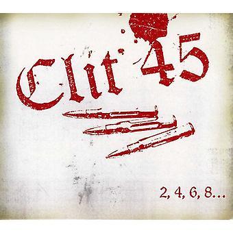 クリトリス 45 2 4 6 8 私達は [CD] 米国を憎むことを愛するあなたの子供をインポート