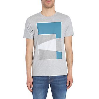 Hugo Boss 5036939110196013072 Men's Grey Cotton T-shirt