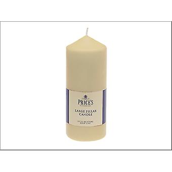 Prices Pillar Candle Ivory 6in CDD060616