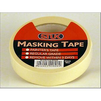 STUK Masking Tape White 24mm x 50m M2550R
