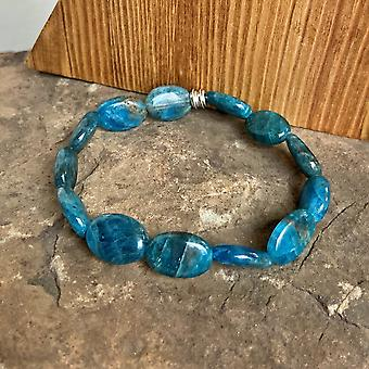Apatite Oval Bracelet