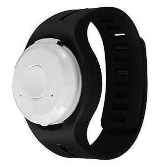 Drahtlose Bluetooth Sport Mini Musik uhr Lautsprecher mit Mikrofon (COLOR: BLACK)
