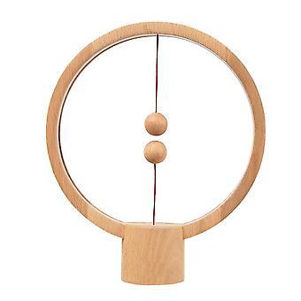 Heng Balance Lamp, Table Lamp - Round - Light Wood