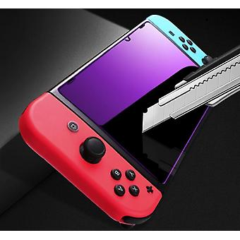 Violet Glass Screen Protector voor Nintendo Switch, Anti-scratch