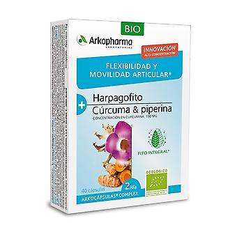 Arkocápsulas Complex Flexibility and Mobility 40 capsules