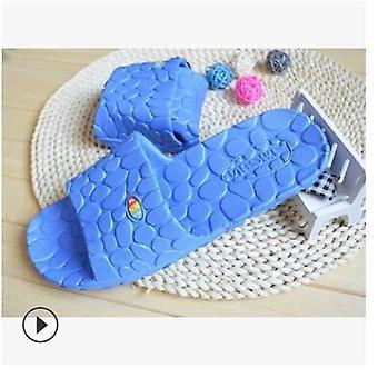 Unisex Home Sandals Bathing Non-slip Soft Bottom Bathroom Slippers New Slippers