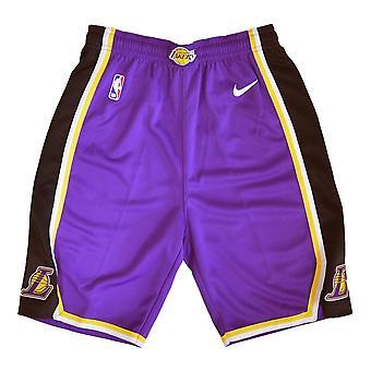 Nike Los Angeles Lakers EZ2B7BAFCLAK basket hela året pojke byxor