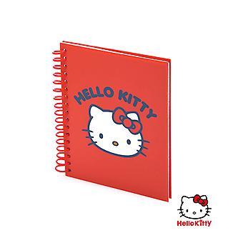 Sormusten kirja Hello Kitty 147264 (80 Hojas)/Punainen