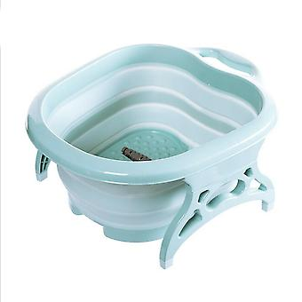 Portable Foot Wash Tub Massage Bucket Travel Bucket With 4 Massage Bathing Tub