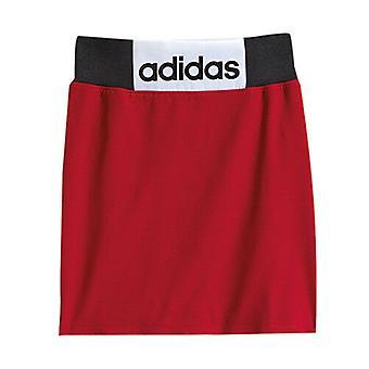 Adidas Originals Jeremy Scott Red Elasticized Cotton Boxing Jupe M63874 RW39